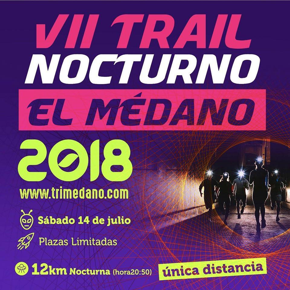 trail notturno el medano 2018